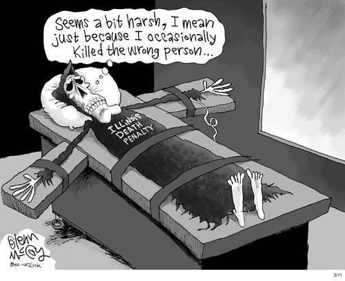 Death Penalty Political Cartoon
