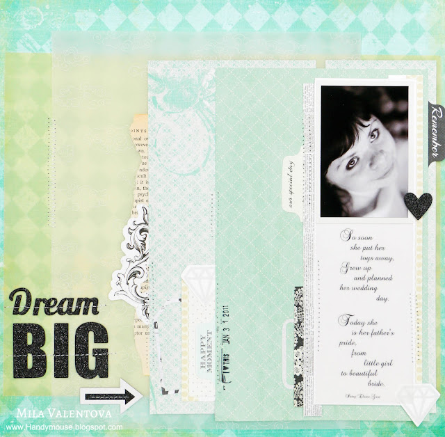 Свадьба-скрапбукинг-альбом-большая-мечта-мемуарис--Джилл-Спротт-Мила-Валентова