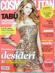 Estou na revista Cosmopolitan italiana