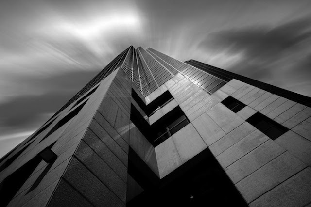 Black and White Architecture Photography by Josh Adamski