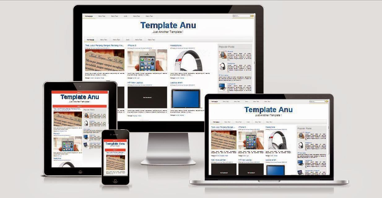 Download Template Zee Simple Versi 1