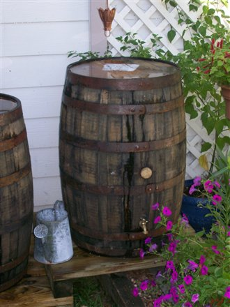 Farm Life Lessons 38 Old Whiskey Rain Barrels I M In