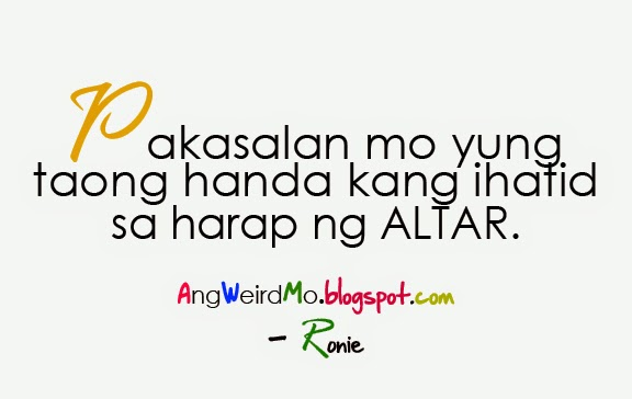 Wedding Wishes Quotes Tagalog