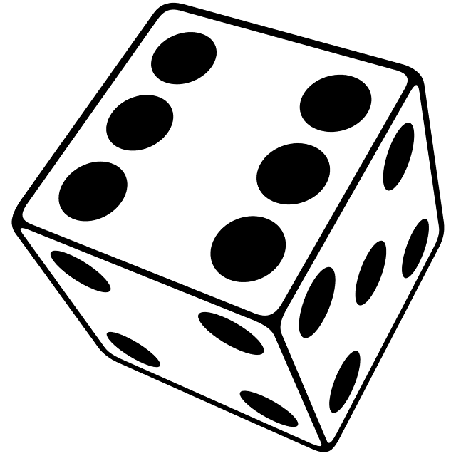 probability of rolling a single die