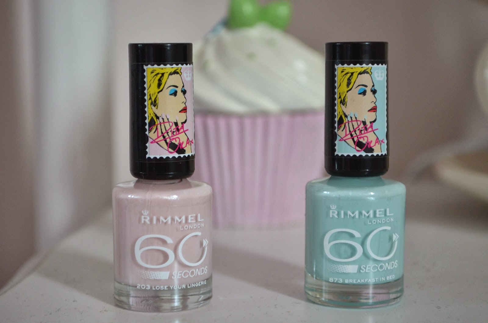 Rimmel X Rita Ora The Nail Polish Edit