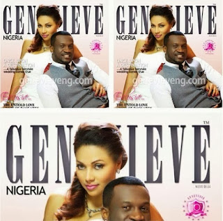 Peter & Lola Okoye Adorn Cover Of The Christmas Edition Of Genevieve Magazine.