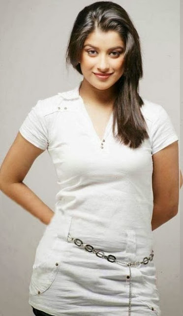 Madhurima Cool In White Top