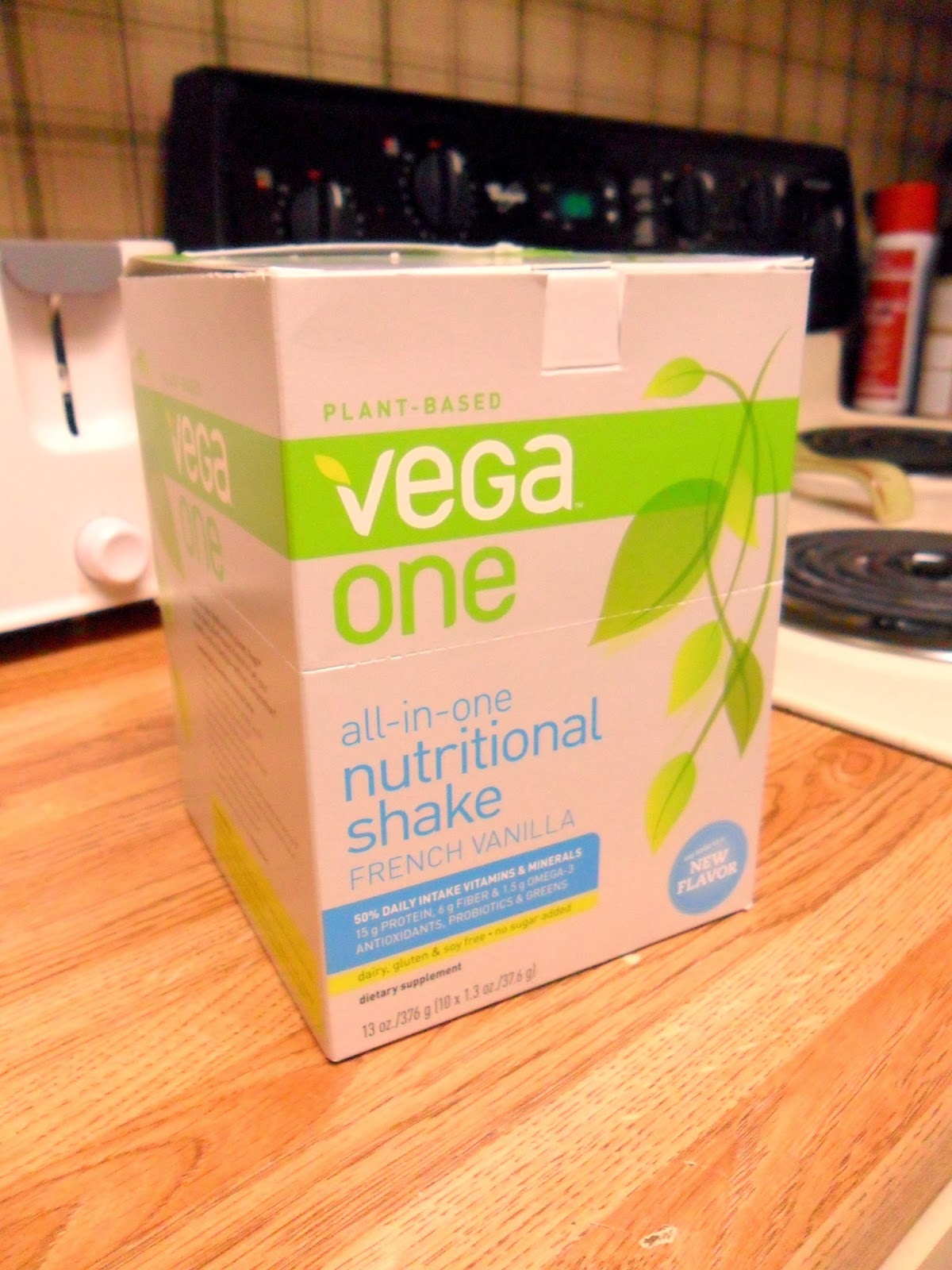Vega One all-in-one nutritional shake French vanilla #OneChange