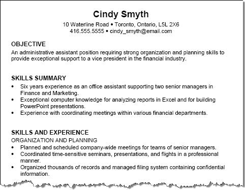 traditional resume sample private sector resume traditional resume sample private sector resume