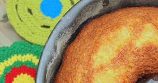 Bolo de laranja (com casca)