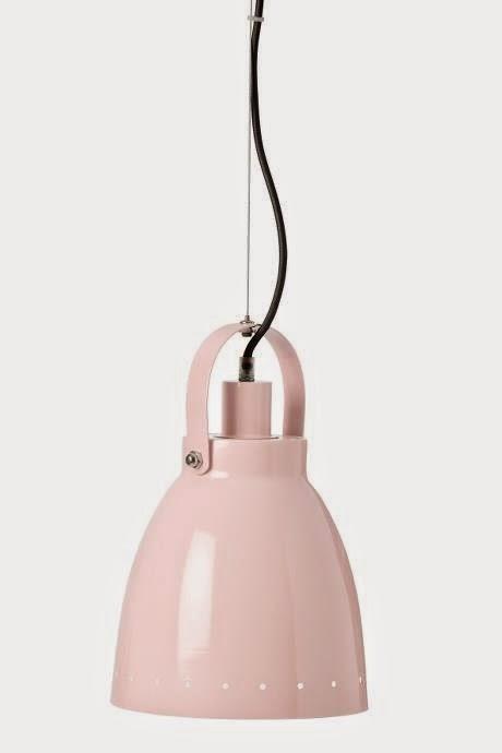 Lampa Pastel Pink