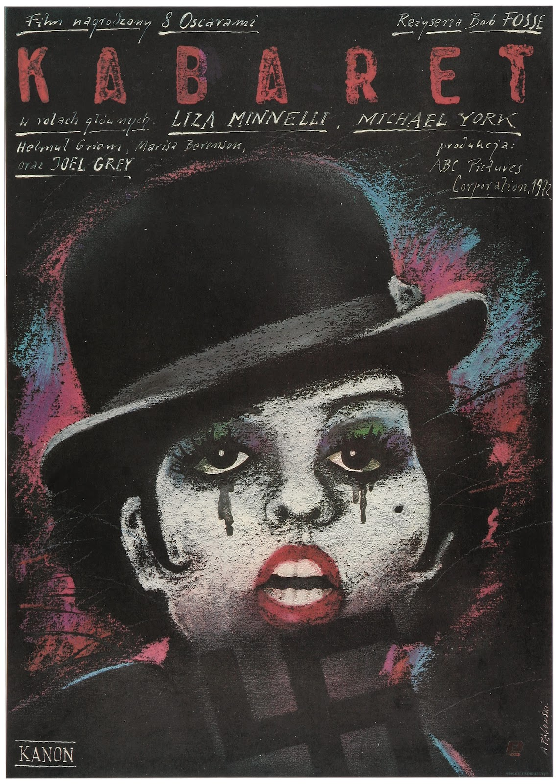 Polish Film Poster Picture Archive: Cabaret, 1972