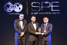 ปตท.สผ. รับรางวัลSPE Thailand E&P Awards 2014