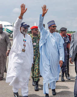 Ekiti guber: Heavy security in Ado-Ekiti as Buhari leads APC mega rally