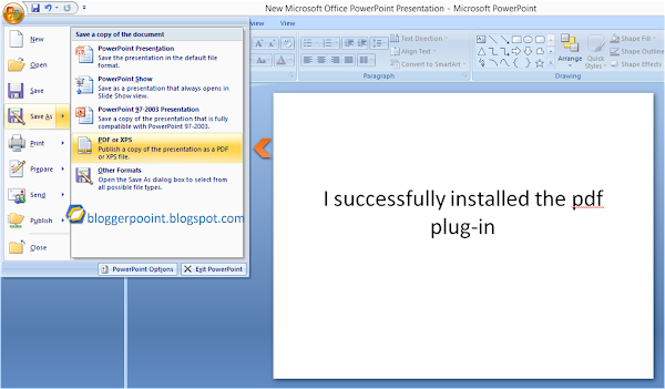 Add Pdf Plugin To Microsoft Office 2007