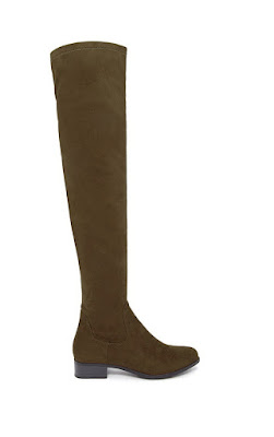 Forever 21 over the knee brown boots