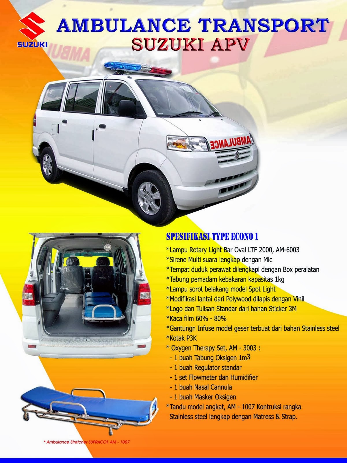 APV Ambulance Spesifikasi Economi-1 2014