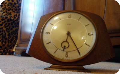 metamec, retro clock