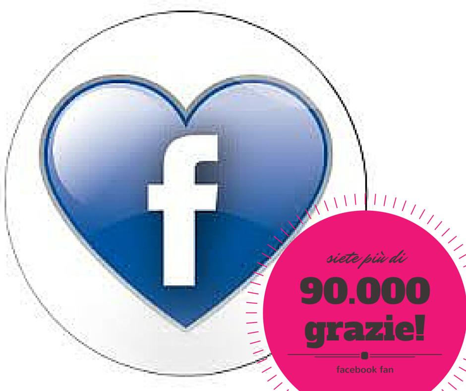 più di 90.000 persone mi seguono su Facebook...unisciti a loro per essere sempre aggiornato!