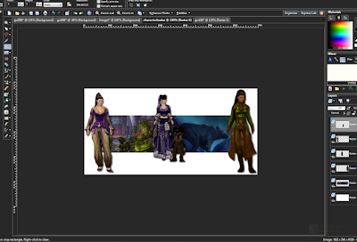 image editing in corel paint shop pro for guild wars 2