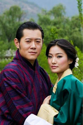 กษัตริย์จิกมี แห่งภูฏาน อภิเษกสมรส เจตสัน เปมา Bhutan Jigme Jetsun Pema