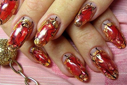 Red and gold nail design choice image nail art and nail design ideas red and gold nail design choice image nail art and nail design ideas red and gold prinsesfo Image collections
