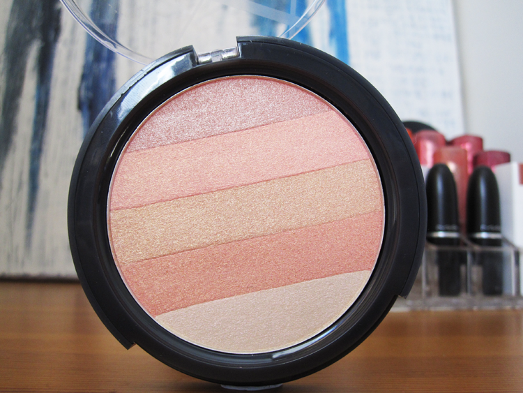 A picture of B. Glowing Shimmer Block in Just Peachy review