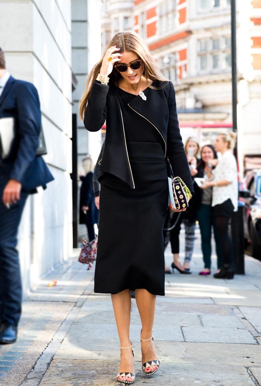 The Olivia Palermo Lookbook London Fashion Week Olivia Palermo At Pringle Of Scotland