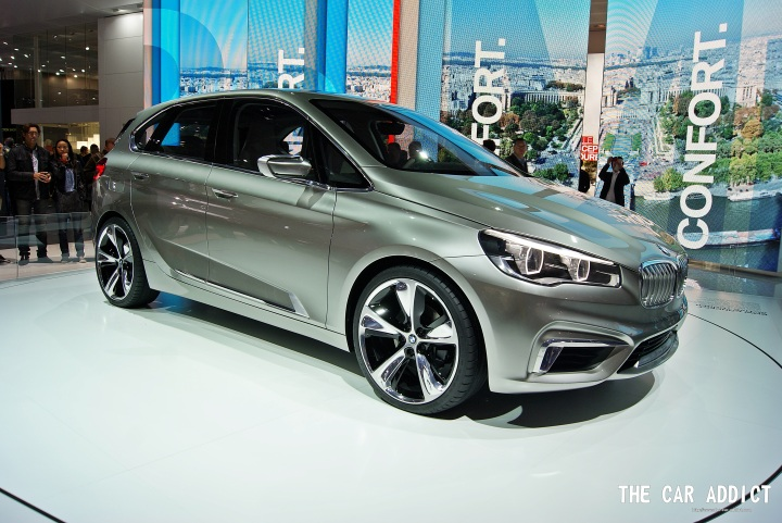 BMW Concept Active Tourer at the Paris Motor Show 2012