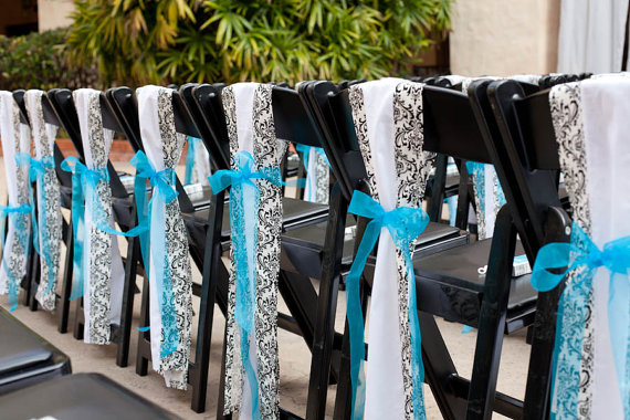 Tiffany Blue Black And White Wedding Apartment Design Ideas