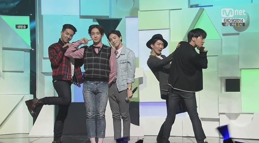 winner dont flirt sbs inkigayo ranking