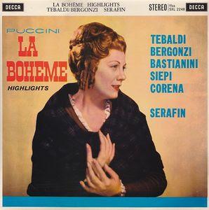 """""""La Boheme"""" - Puccini (Decca)"""
