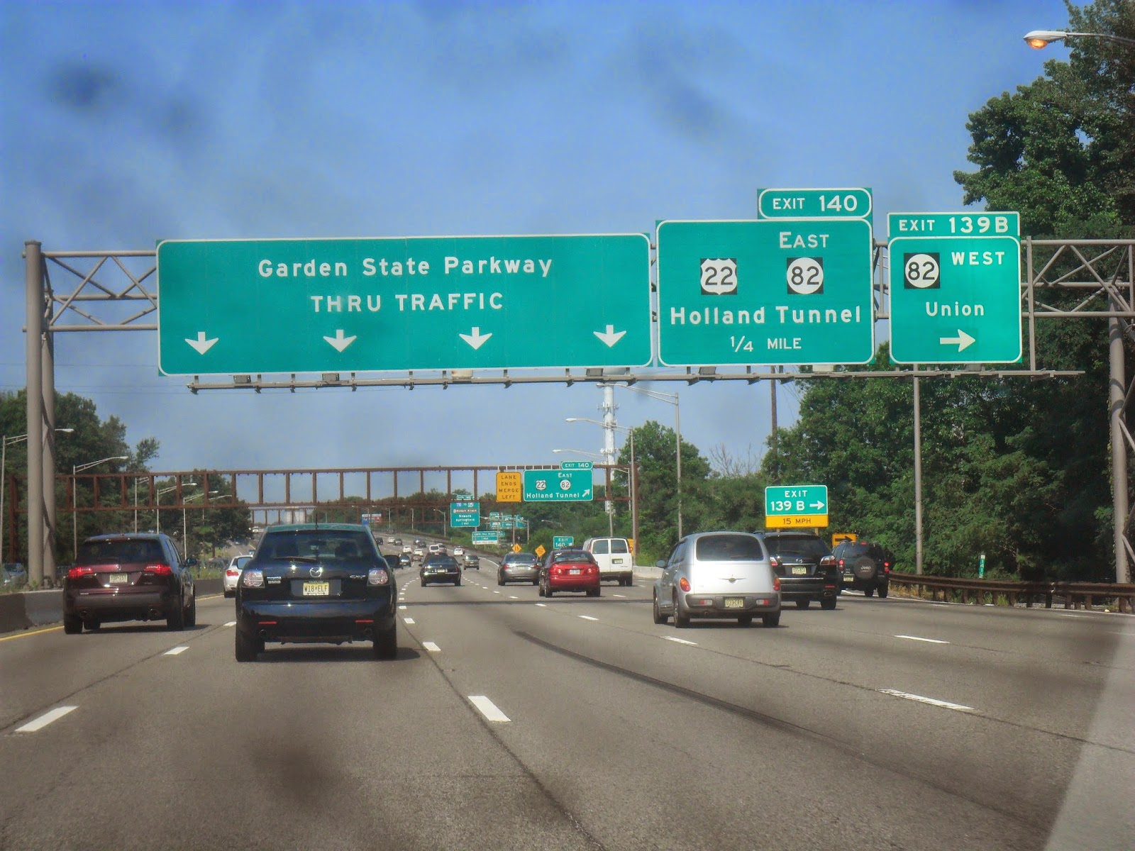 Luke 39 S Signs N J Turnpike Garden State Pkwy New Jersey