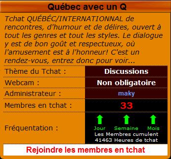 Quebec rencontres connexion membres