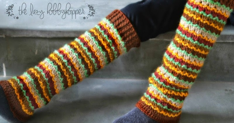 The Lazy Hobbyhopper: Leg warmer - latest pattern