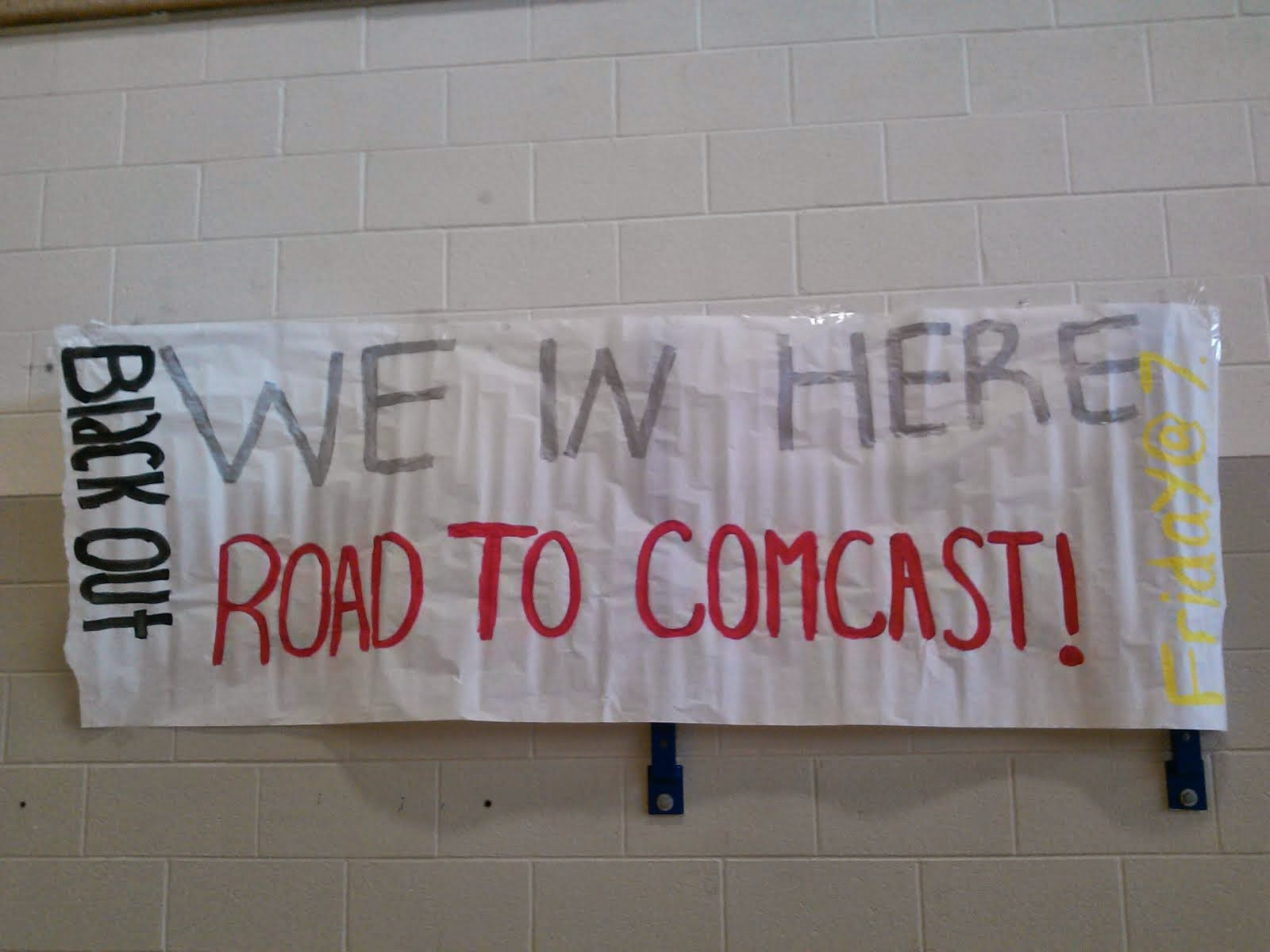 Road to Comcast