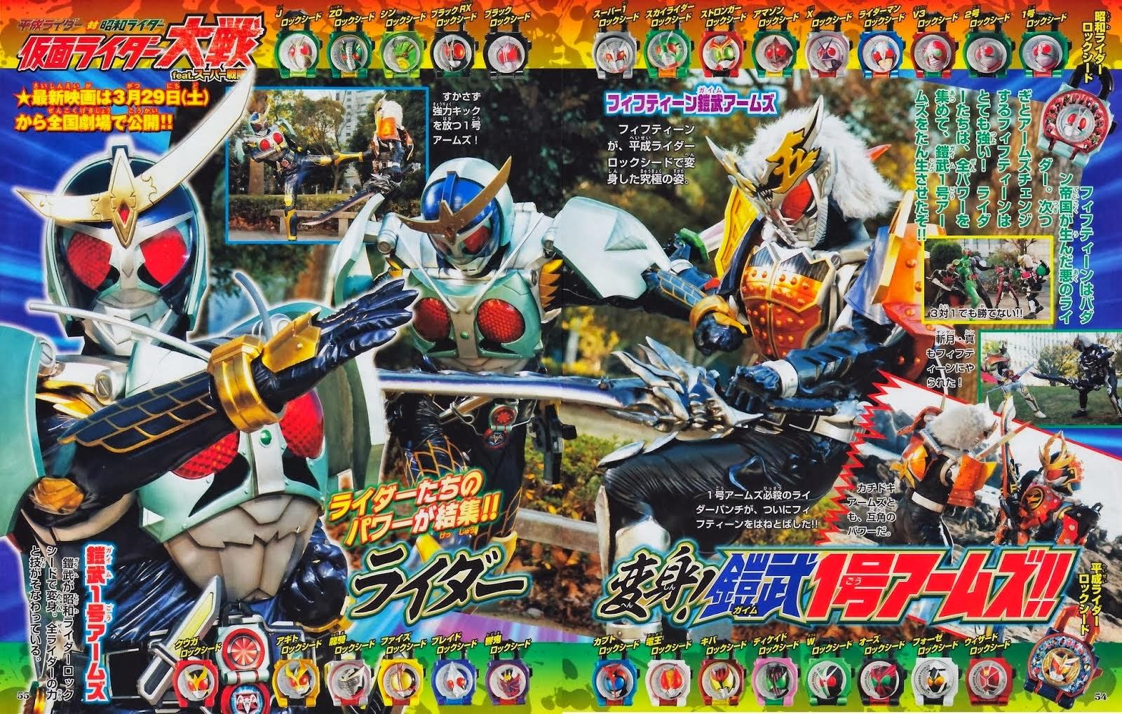 Preview Kamen Rider Taisen Ft Super Sentai Tendou Rider Rider Preview Kamen