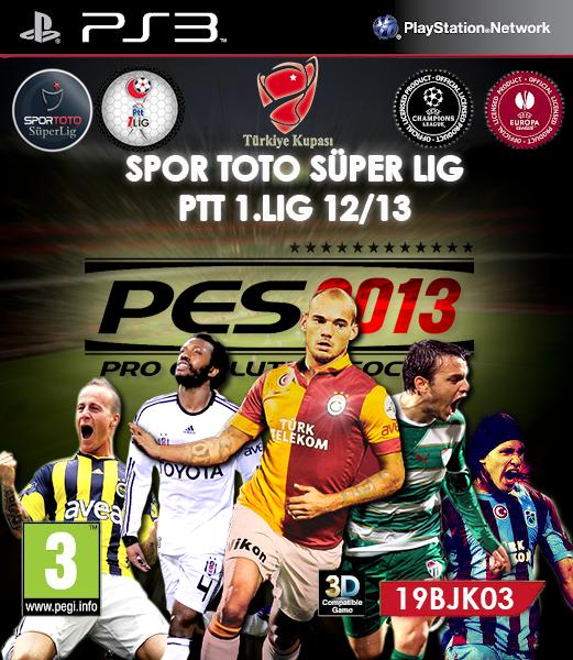 Pes 2013 SpoR Toto Süper Lig Yaması İndir / Güncel