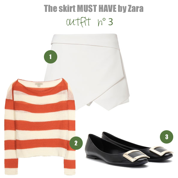 Zara Origami Skirt on Design and fashion recipes