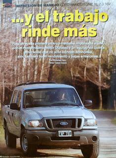 Prueba test Ford Ranger 2.3 GNC