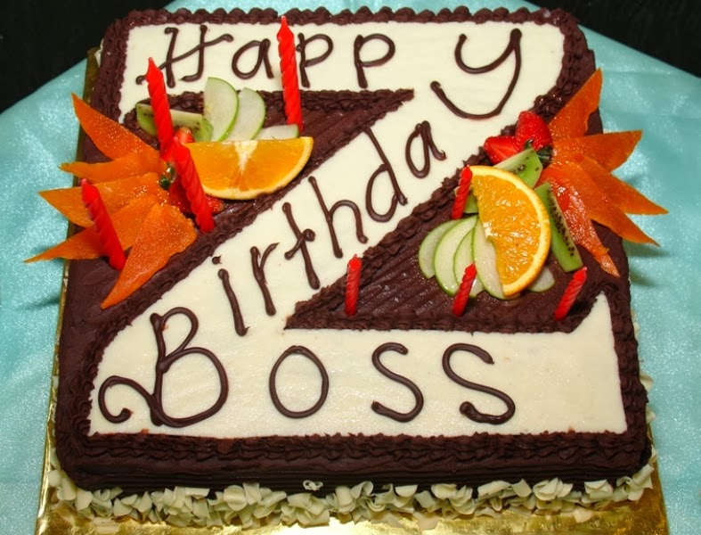 happy birthday wishes boss on birthday cake with name edit online