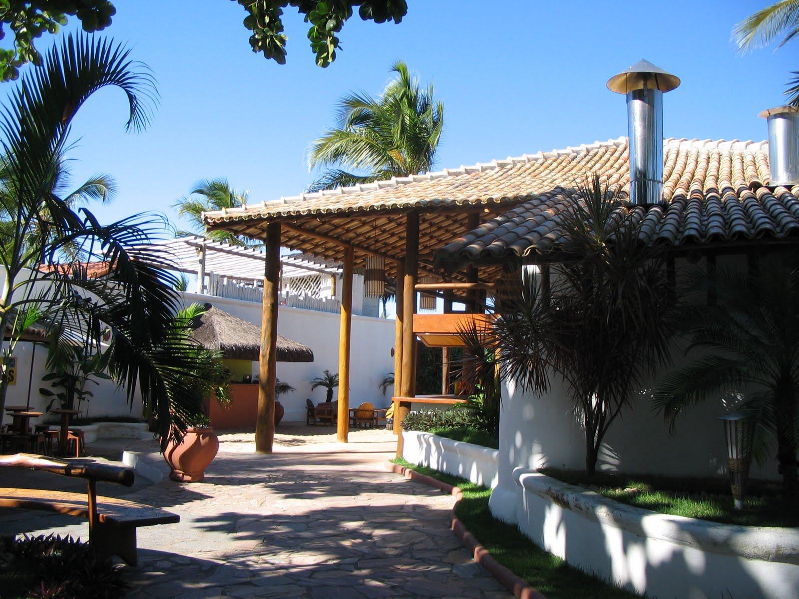 Quinta do porto hotel amp marina arraial d ajuda bahia - Vista Da Entrada Da Cabana