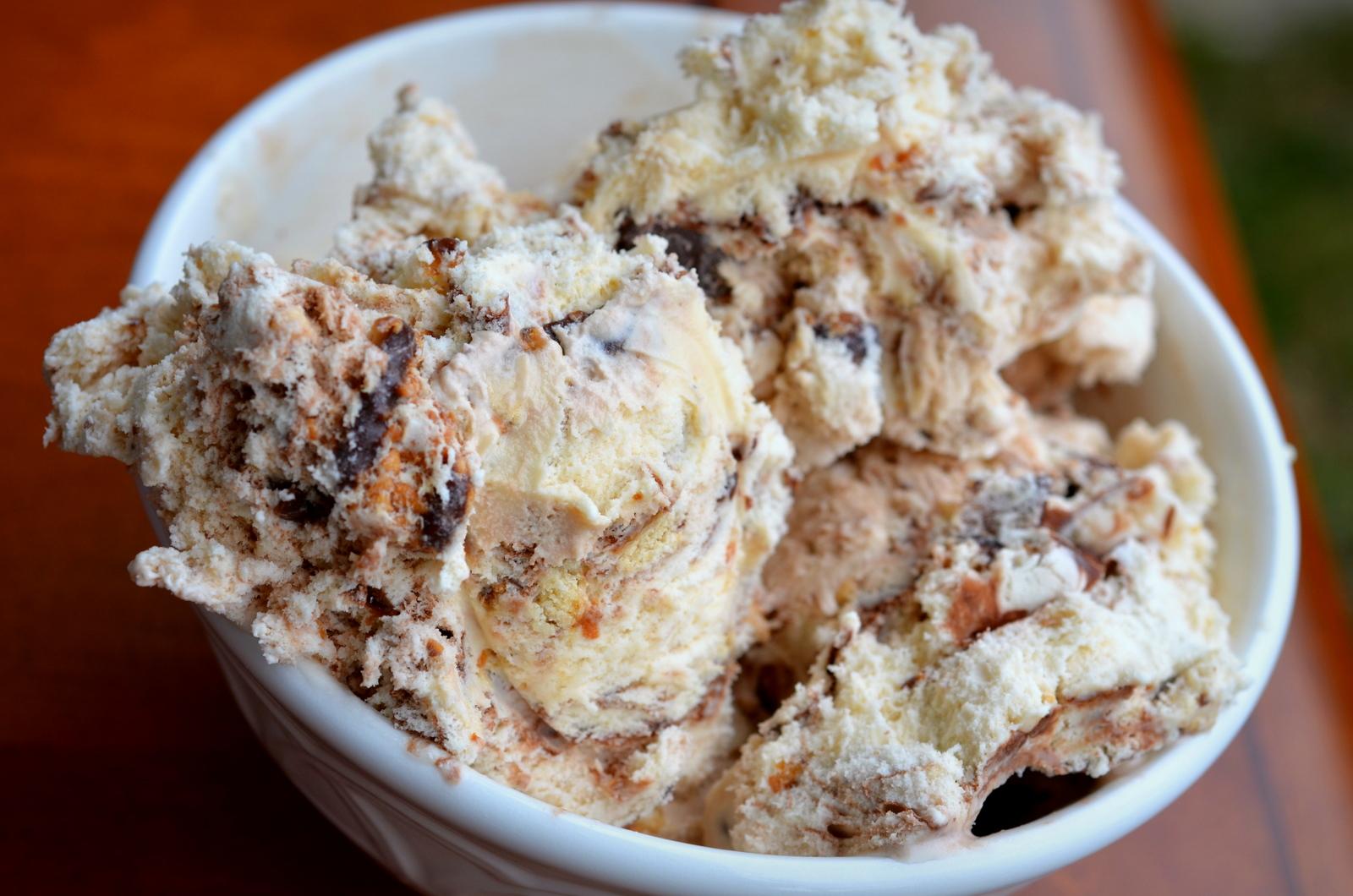 Coconut Caramel Ice Cream Recipe — Dishmaps