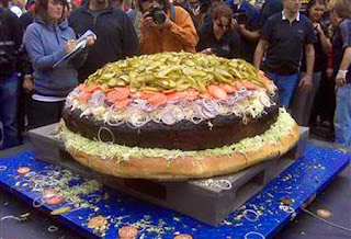 Daging burger terbesar