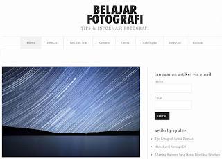 Situs Belajar Fotografi Online
