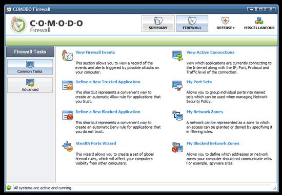 Comodo Firewall + Antivirus
