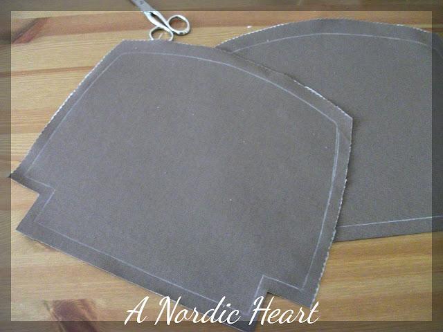 Popolare A Nordic Heart: Tutorial – Cucire una pochette foderata con  SI62
