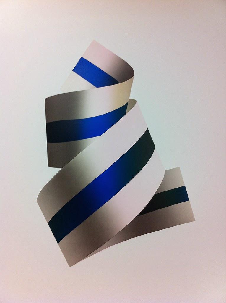 screen-printing, technique, color, gradient, paper stripe