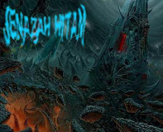 jenazah hitam band logo wallpaper artwork picture