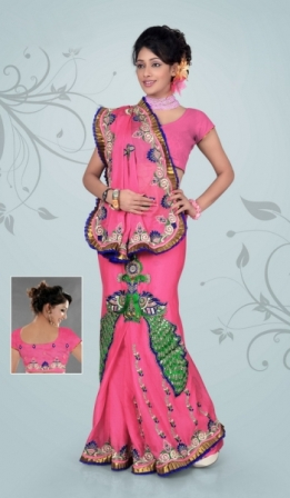 Designer-Stylish-Wedding-Saree